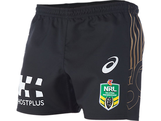 Penrith Panthers Replica Main Shorts BLACK 3