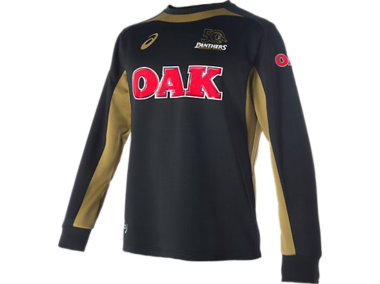 Penrith Panthers Training Warm Up Top Black / Lime Green / Yellow 3