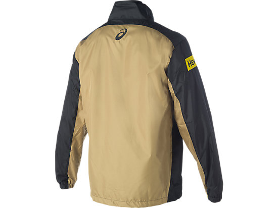 Penrith Panthers Training Spray Jacket Black / Lime Green / Yellow 7