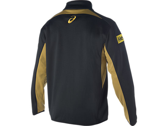 Penrith Panthers Training Travel Jacket Black / Lime Green / Yellow 7