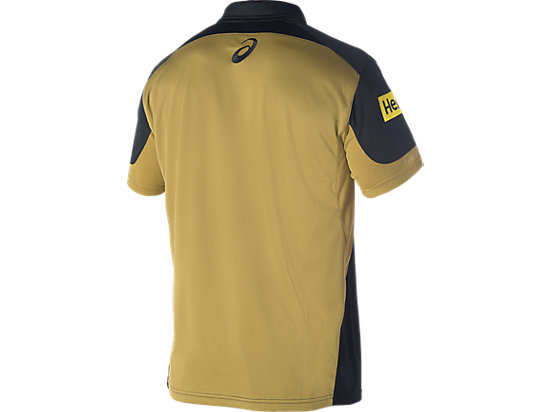 Penrith Panthers Media Polo Black / Lime Green / Yellow 7