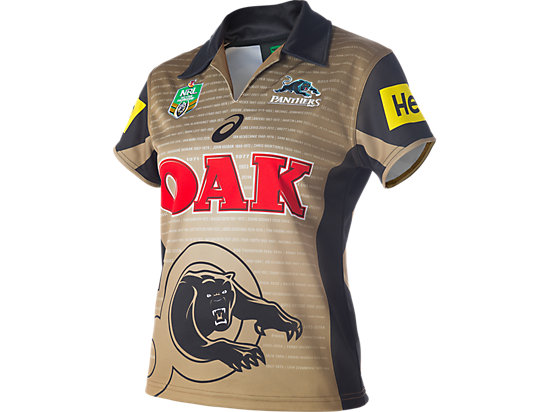 Penrith Panthers Replica Alternate Jersey - Womens GOLD 3