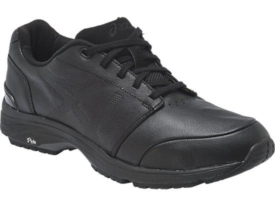 GEL-Odyssey Leather (2E) BLACK/BLACK/RED 3