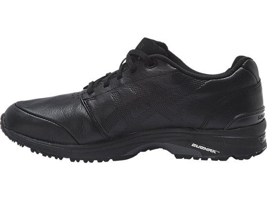 GEL-Odyssey Leather (2E) BLACK/BLACK/RED 11