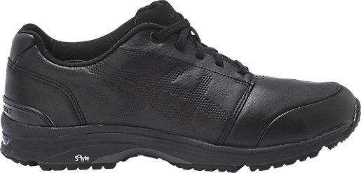 asics black leather
