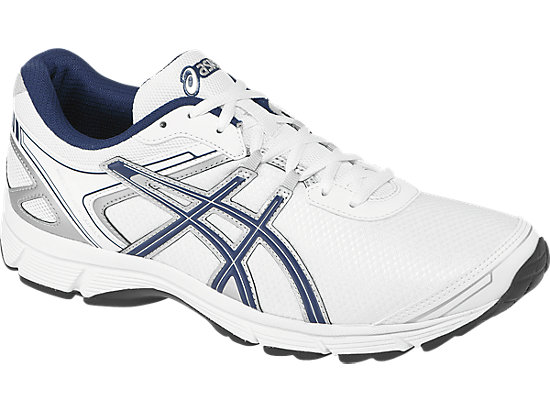 GEL-Quickwalk 2 White/Navy/Silver 3