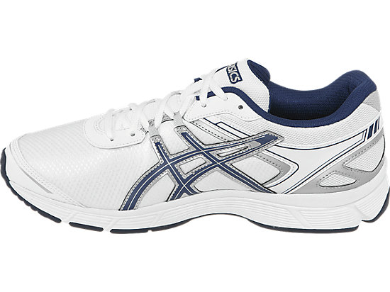 GEL-Quickwalk 2 White/Navy/Silver 15