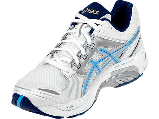GEL-Tech Walker Neo 4 White/Periwinkle/Ink 7