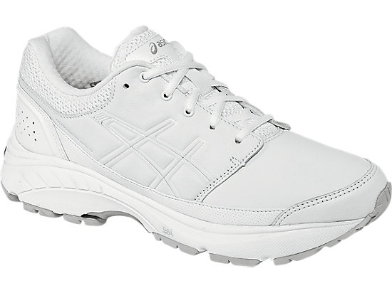 GEL-Foundation Workplace (2E) White/Silver 3