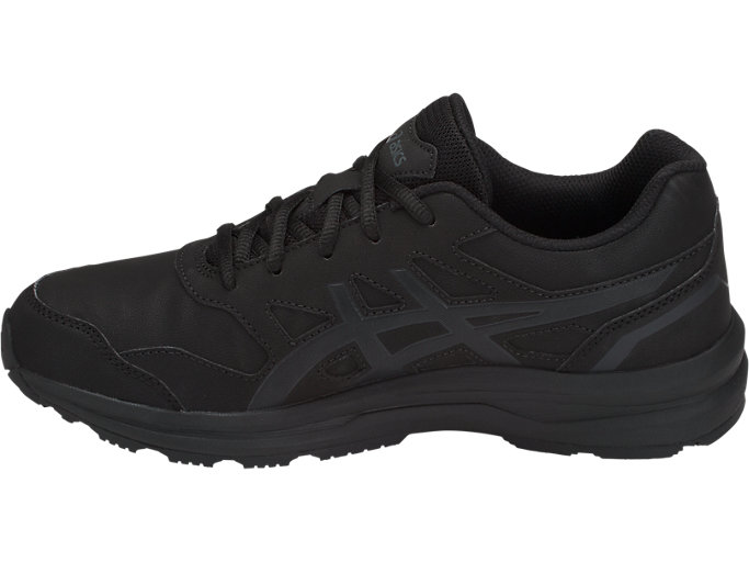 ASICS Gel-Mission Unisex Mens Black Outdoors Road Walking  Sports Shoes Trainers