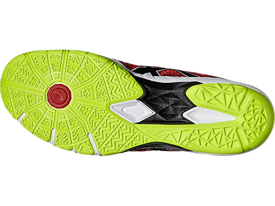 GEL-BLADE 5 VERMILION/BLACK/SAFETY YELLOW 15
