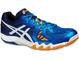 GEL-BLADE 5, ELECTRIC BLUE/WHITE/NAVY