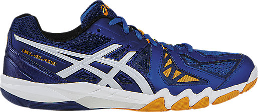 GEL-Blade 5 Electric Blue/White/Navy 3 RT
