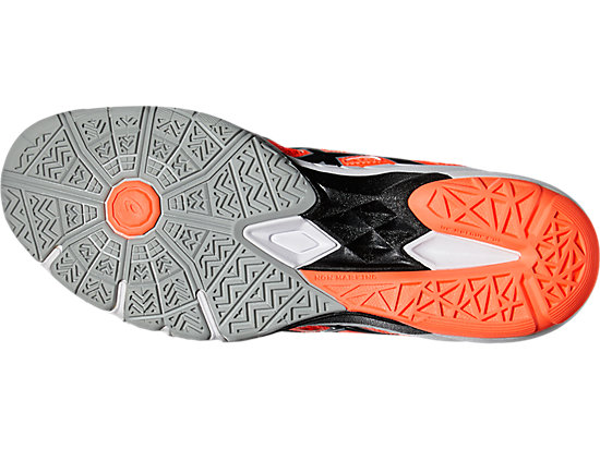 GEL-BLADE 5 FLASH CORAL/BLACK/MID GREY 15