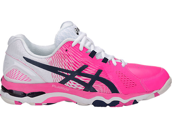 GEL-NETBURNER SUPER 8 | WOMEN | HOT PINK/INDIGO BLUE/WHITE ...