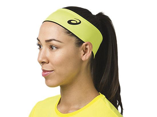 PR Reversible Headband/Wristband Set Neon Black 19