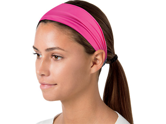 Don't Hold Me Back Headband Ultra Pink 11