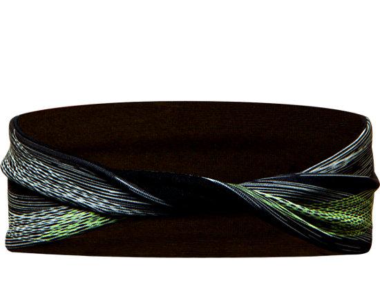 Lite-Show Twisted Headband Black 7