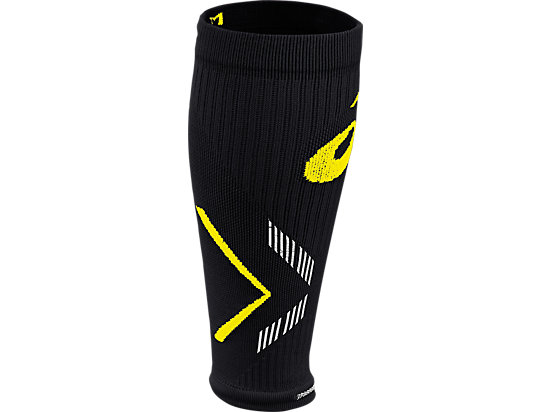 Lite-Show Rally Leg Sleeves Black/Safety Yellow 3