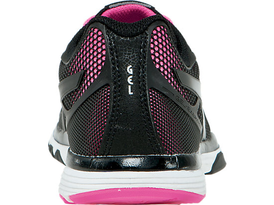 GEL-Exert TR Black/Black/Knockout Pink 23