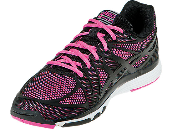 GEL-Exert TR Black/Black/Knockout Pink 7