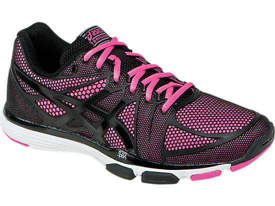 GEL-Exert TR Black/Black/Knockout Pink 3