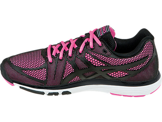 GEL-Exert TR Black/Black/Knockout Pink 15