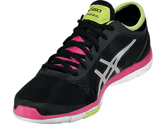 GEL-Fit Nova Black/Silver/Hot Pink 7