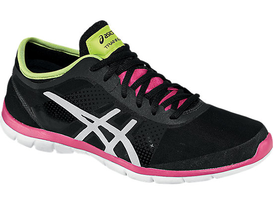 GEL-Fit Nova Black/Silver/Hot Pink 3
