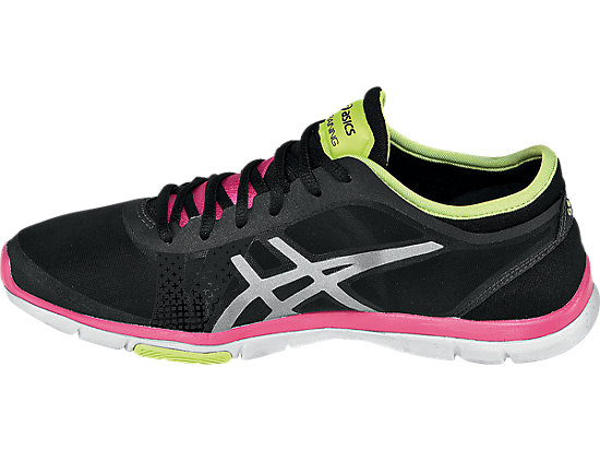 GEL-Fit Nova Black/Silver/Hot Pink 15