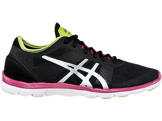 GEL-Fit Nova Black/Silver/Hot Pink 19