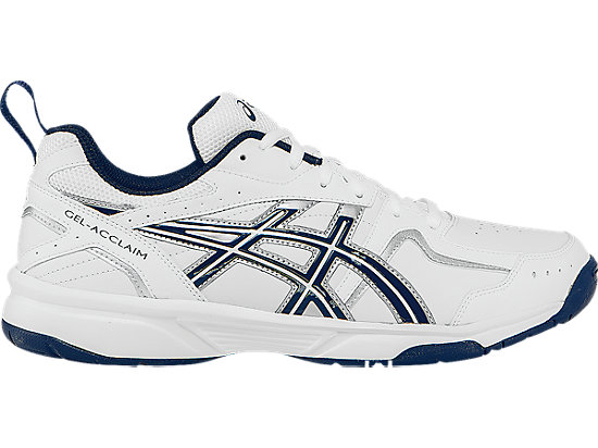 GEL-Acclaim White/Navy/Silver 3
