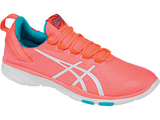 GEL-Fit Sana 2 Flash Coral/White/Scuba Blue 7