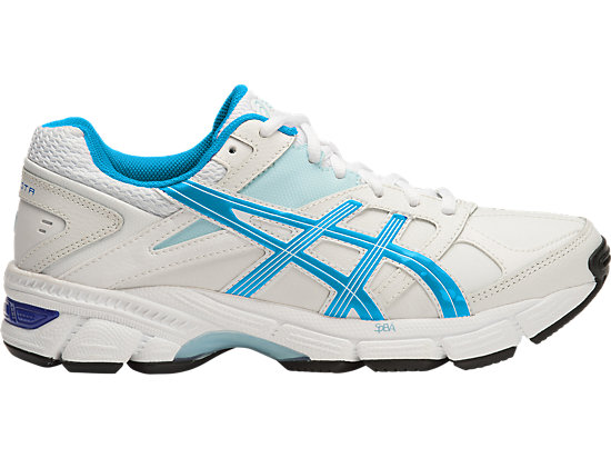 GEL 190TR LEATHER (2E) WHITE/IMPERIAL/BLUE GLOW 15