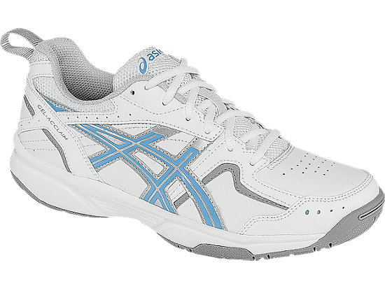 GEL-Acclaim (D) White/Silver/Sky Blue 7