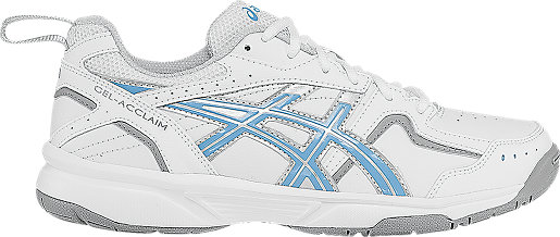 Asics Training shoes Womens Sky Blue White Silver Gel acclaim D