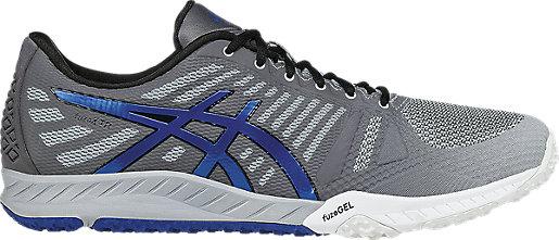 Asics FuzeX TR Mens Mid Grey/Imperial/Carbon X690211KG Shoes