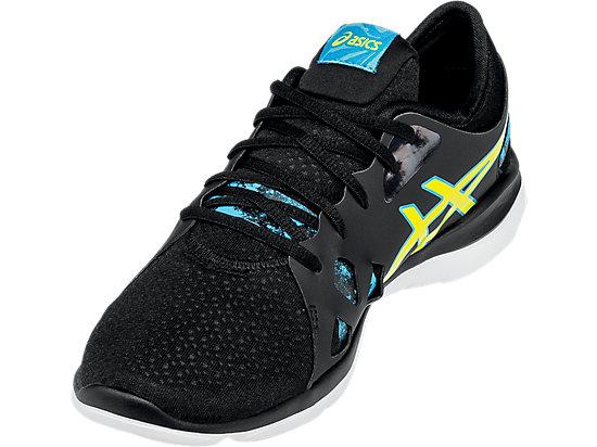 GEL-Fit Nova 2 Black/Flash Yellow/Scuba Blue 11