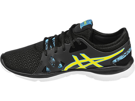 GEL-Fit Nova 2 Black/Flash Yellow/Scuba Blue 15