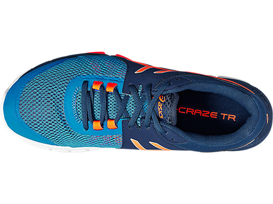 GEL-CRAZE TR 4 INDIGO BLUE/HOT ORANGE/IMPERIAL 15