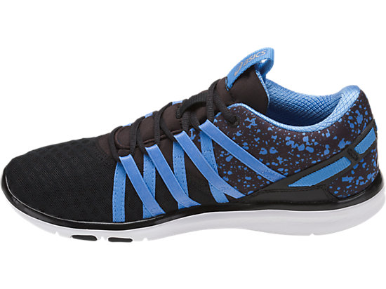GEL-FIT YUI BLACK/REGATTA BLUE/SILVER