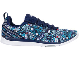 GEL-FIT SANA3, Indigo Blue/White/Mid Grey