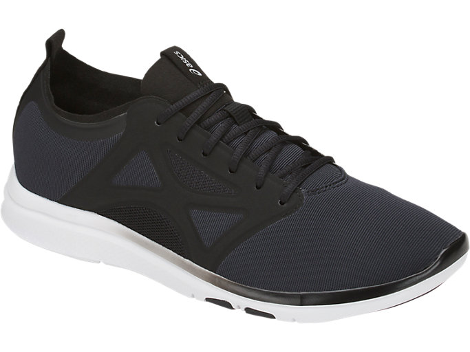 Front Right view of FIT YUI 2, Black/Black/Silver