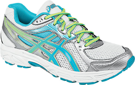 Asics Gel Contend 2 White/Turquoise/Sharp Green Womens Shoes