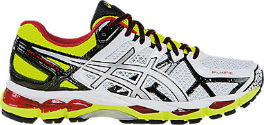 online store a8de0 c8932 GEL-Kayano 21 White Lightning Flash Yellow 3 RT