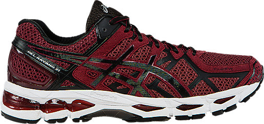 GEL-Kayano 21 Deep Ruby/Black/Silver 3 RT