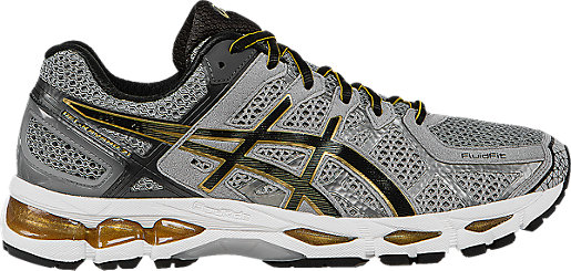 GEL-Kayano 21 Grey Beige/Black/Gold 3 RT