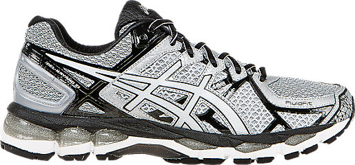 ASICS Men GEL Kayano 21 Lightning/White/Black Running Shoes