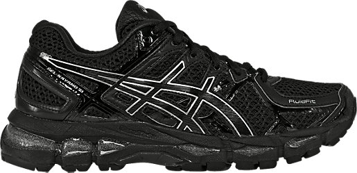 GEL-Kayano 21 Onyx/Black/Silver 3 RT