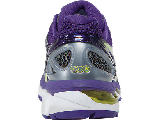 GEL-Kayano 21 (D) Charcoal/Sharp Green/Purple 27
